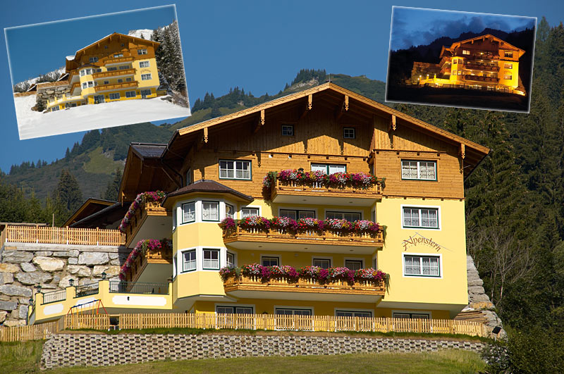 Appartement Alpenstern im Sommer - Grossarltal