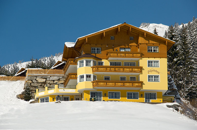 Appartement Alpenstern im Winter - Grossarltal